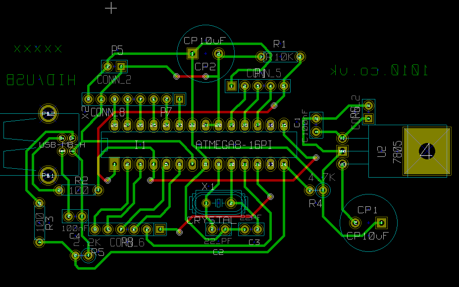 Low budget USB sensor input into Pure Data/Supercollider and other free softwares based around the ATmega8...